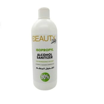 """""""BEAUTY PALM ISOPROPYL ALCOHOL 90% for professional use"""" 1000ml"""